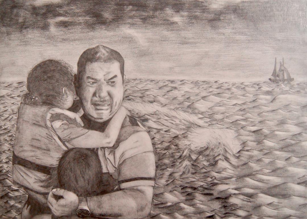 Kunst Flüchtlinge